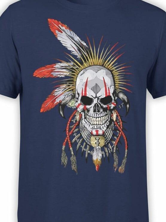 1808 Dead Warrior T Shirt Front Color