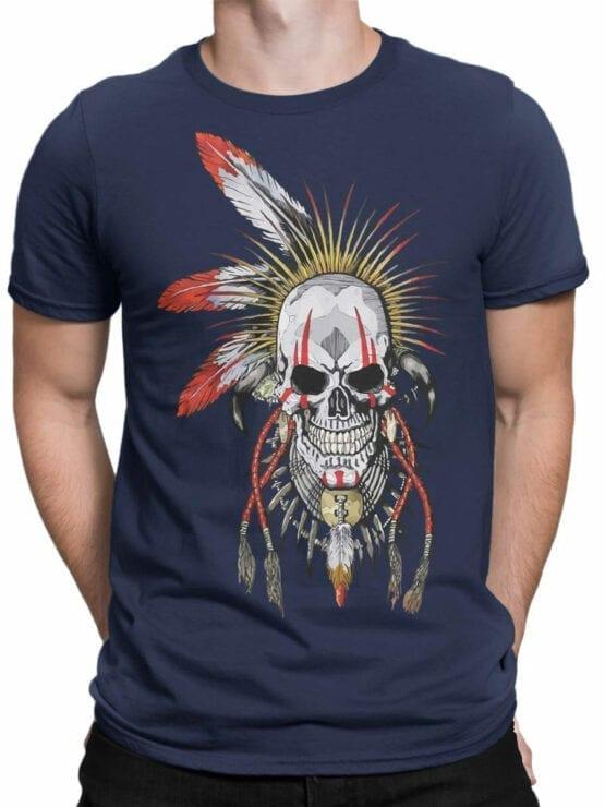 1808 Dead Warrior T Shirt Front Man