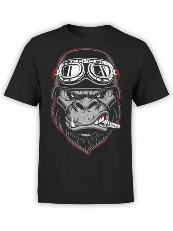1811 Wild Biker T Shirt Front
