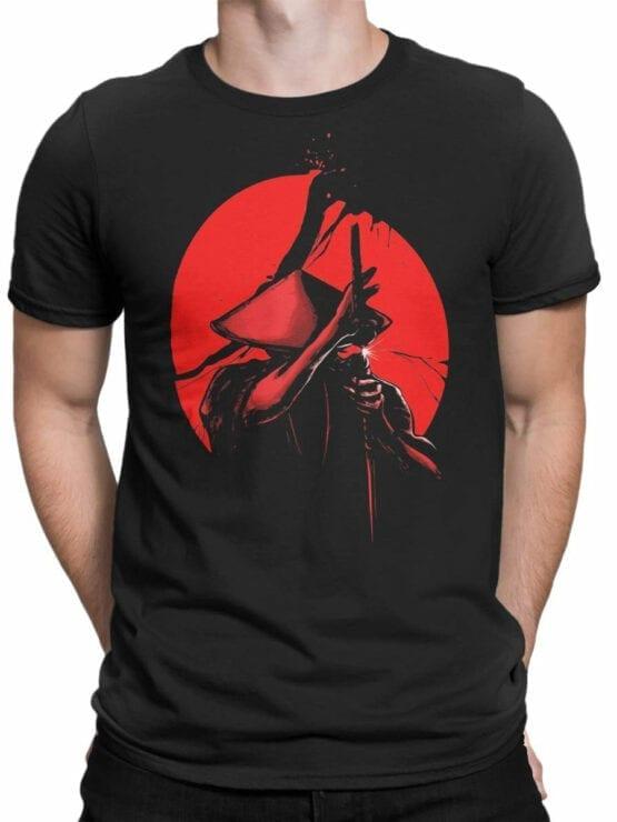 1812 Samurais Revenge T Shirt Front Man