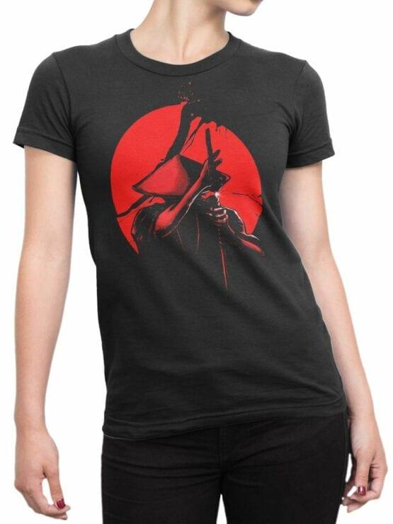 1812 Samurais Revenge T Shirt Front Woman