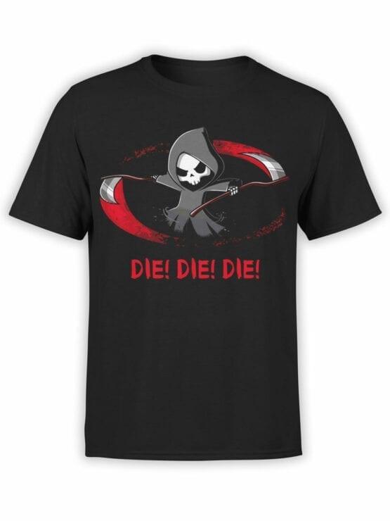 1813 Die Die Die T Shirt Front