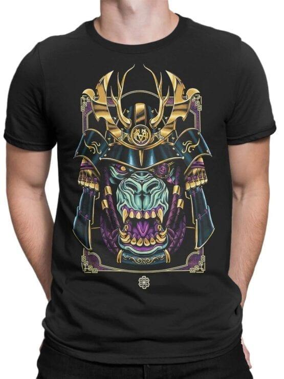 1814 Monster Samurai T Shirt Front Man