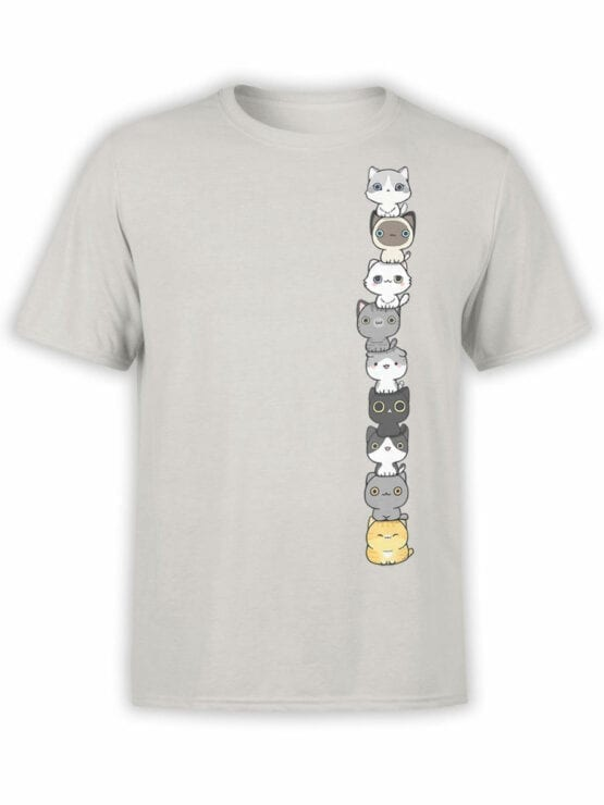 1815 Сute Cats Pyramid T Shirt Front
