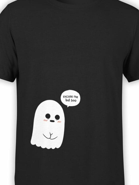 1816 But Boo Cute Ghost T Shirt Front Color