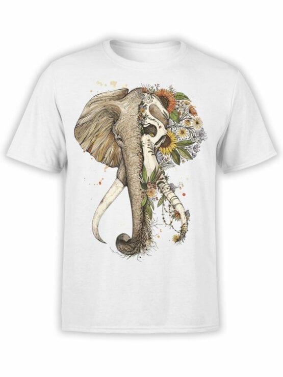 1822 Mystical Elephant T Shirt Front