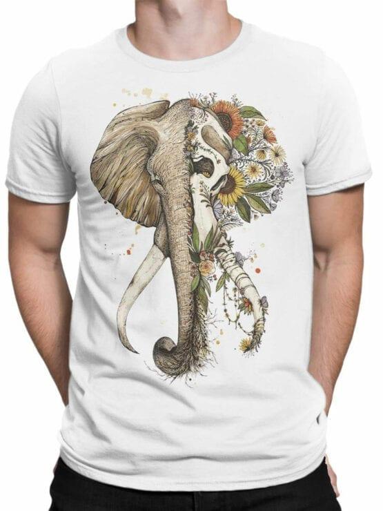 1822 Mystical Elephant T Shirt Front Man