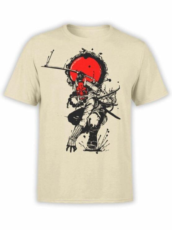 1823 Devil Samurai T Shirt Front