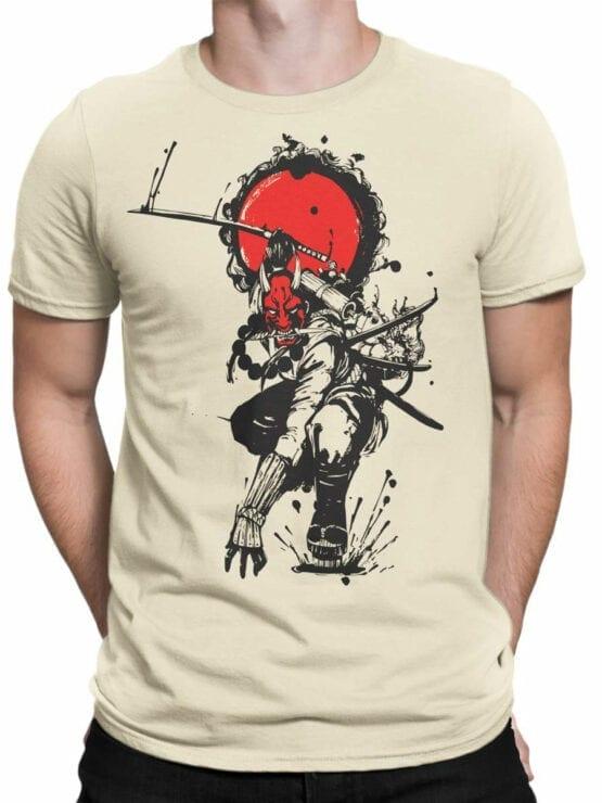 1823 Devil Samurai T Shirt Front Man