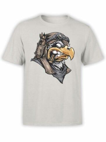 1824 Eagle Pilot T Shirt Front