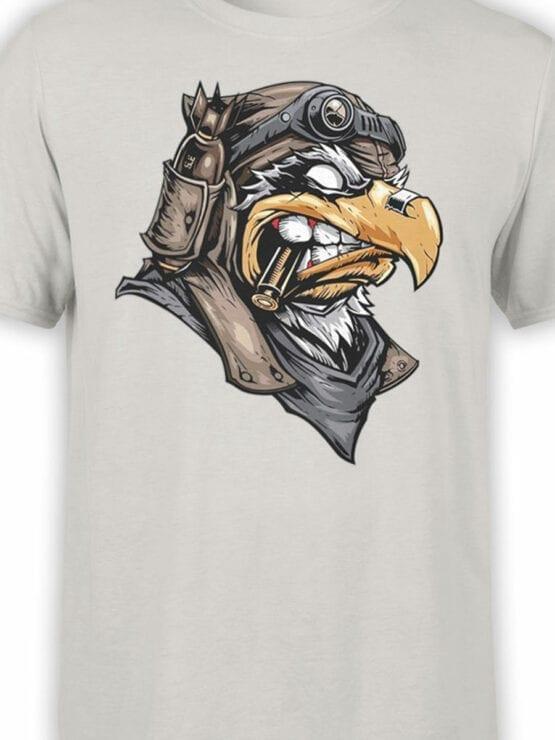 1824 Eagle Pilot T Shirt Front Color