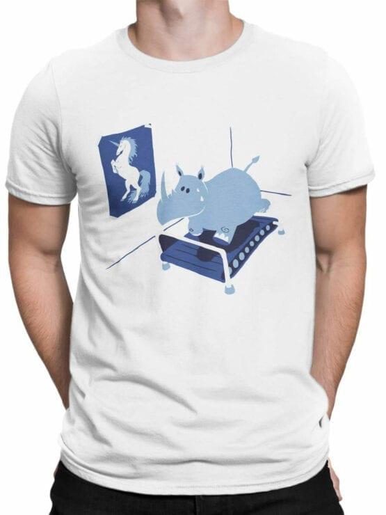 1834 Fitness T Shirt Front Man