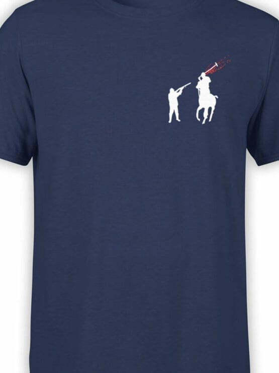 1840 Polohunter T Shirt Front Color