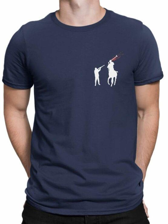 1840 Polohunter T Shirt Front Man