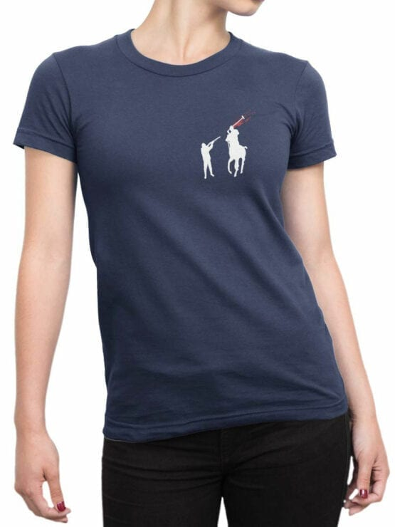 1840 Polohunter T Shirt Front Woman