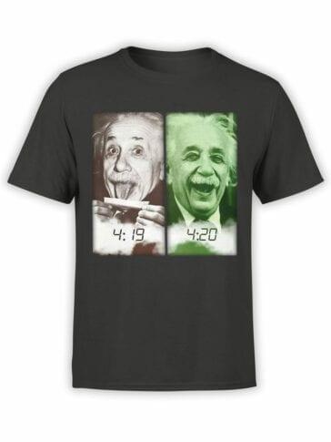 1844 Einstein 420 T Shirt Front