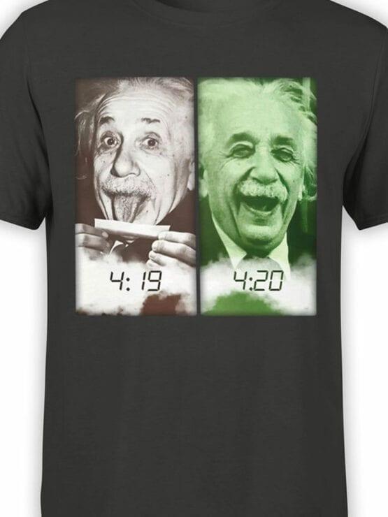 1844 Einstein 420 T Shirt Front Color
