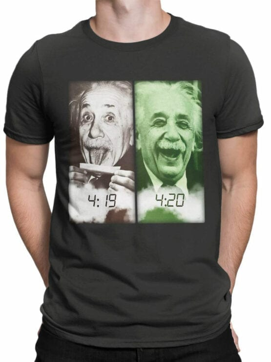 1844 Einstein 420 T Shirt Front Man