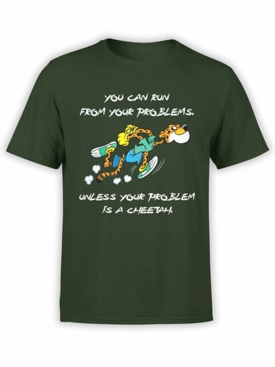 1846 Cheetah Problem T Shirt Front
