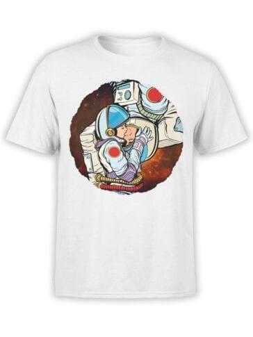 1848 AstroKiss T Shirt Front