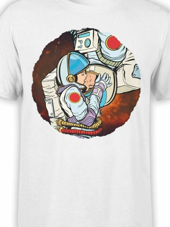 1848 AstroKiss T Shirt Front Color