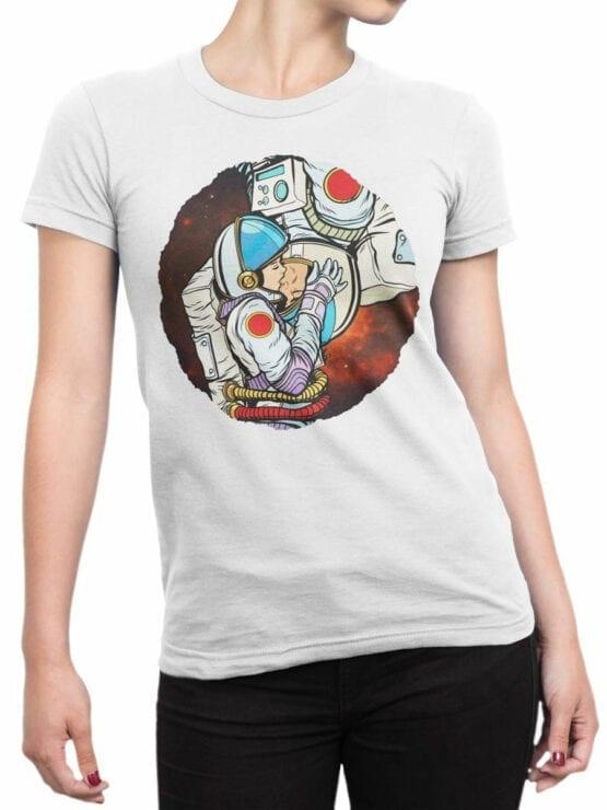 1848 AstroKiss T Shirt Front Woman