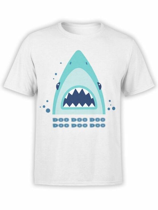 1850 Shark Doo Doo T Shirt Front