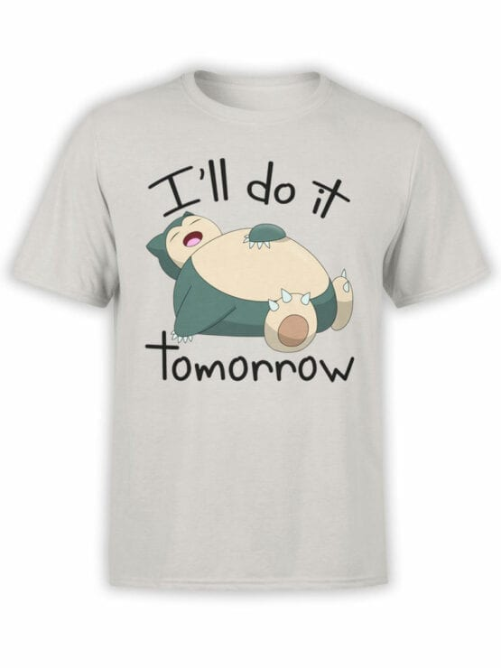 1852 Snorlax T Shirt Front