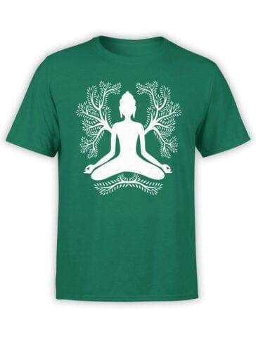 1853 Meditation T Shirt Front