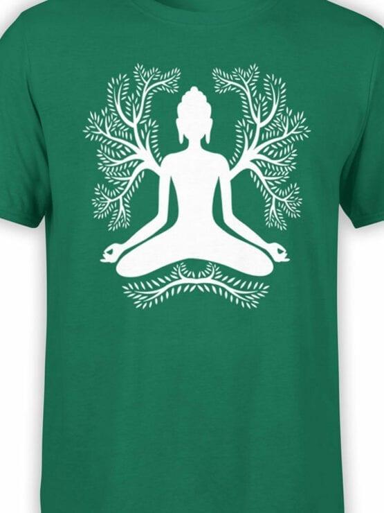 1853 Meditation T Shirt Front Color