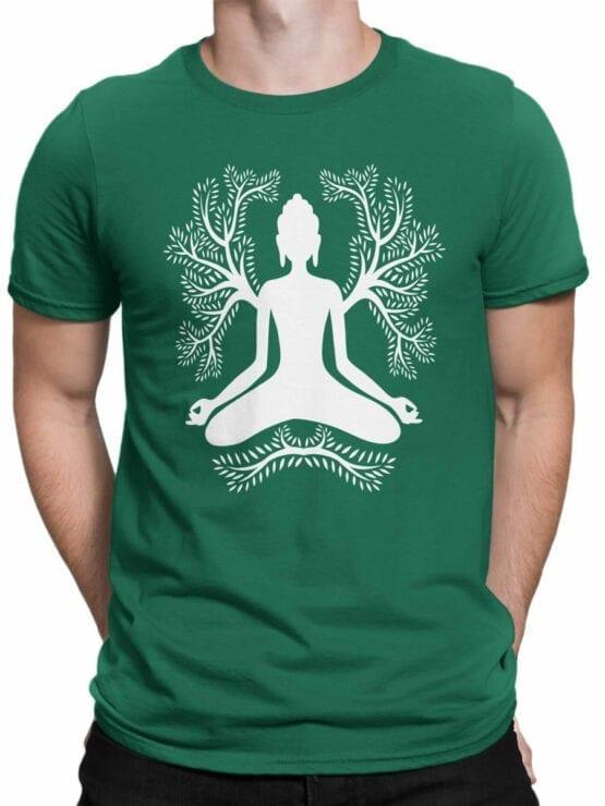 1853 Meditation T Shirt Front Man