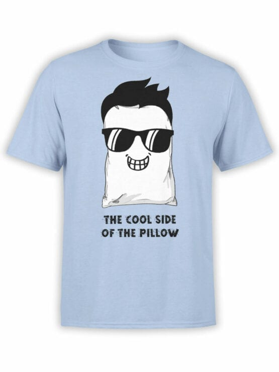 1857 Pillow Cool Side T Shirt Front