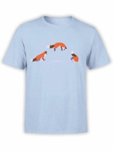 1859 Fox Jump T Shirt Front
