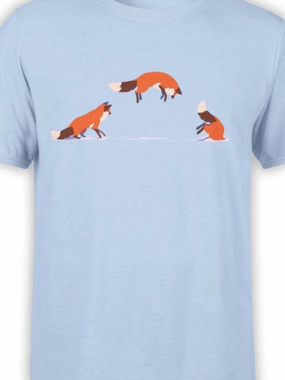 1859 Fox Jump T Shirt Front Color