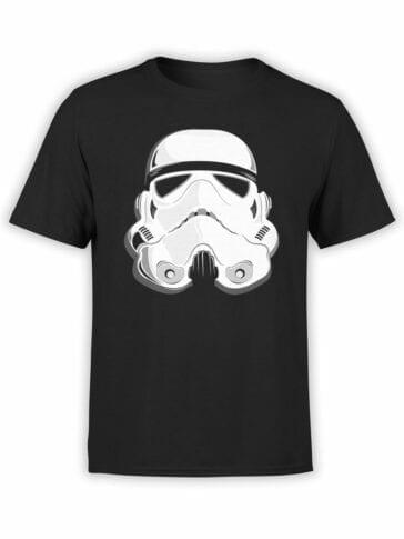 1863 Stormtrooper Helmet T Shirt Front