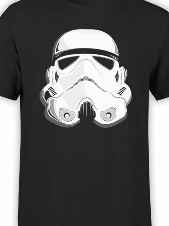 1863 Stormtrooper Helmet T Shirt Front Color