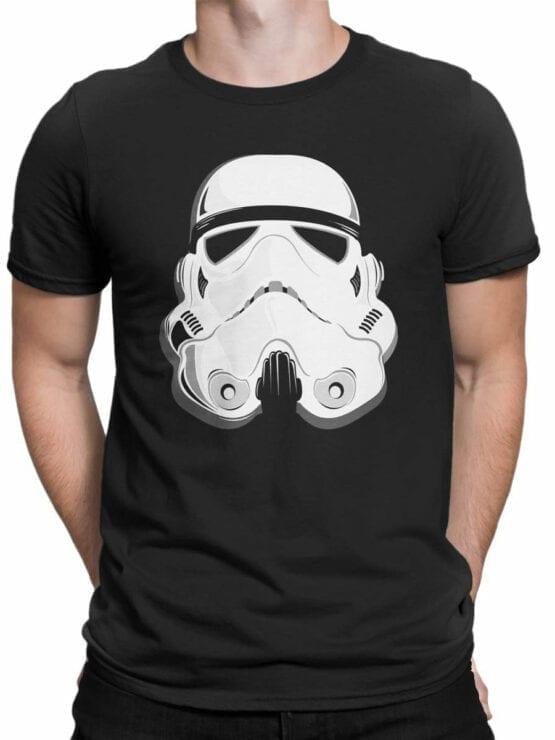 1863 Stormtrooper Helmet T Shirt Front Man