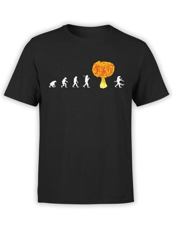 1864 Radiation Evolution T Shirt Front