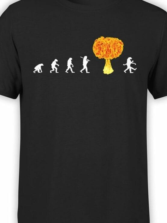 1864 Radiation Evolution T Shirt Front Color
