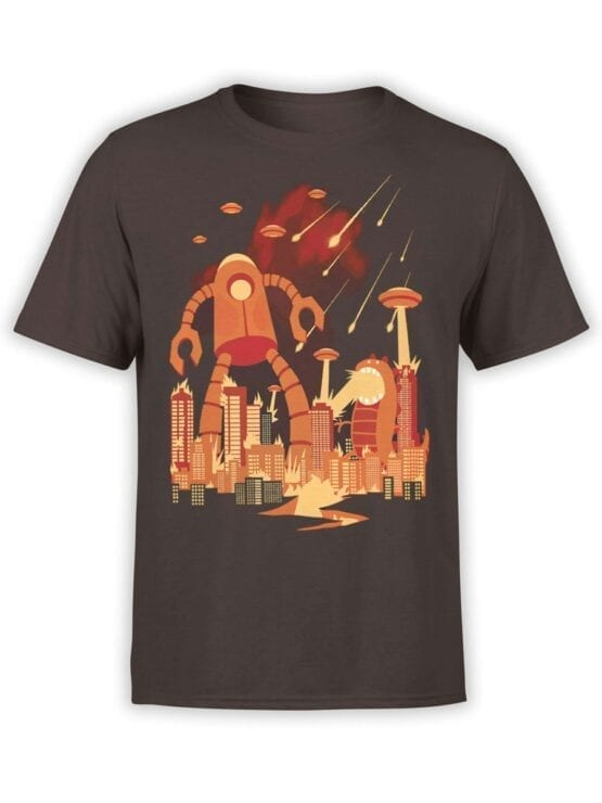 1867 Retro Armageddon T Shirt Front