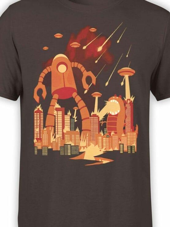 1867 Retro Armageddon T Shirt Front Color