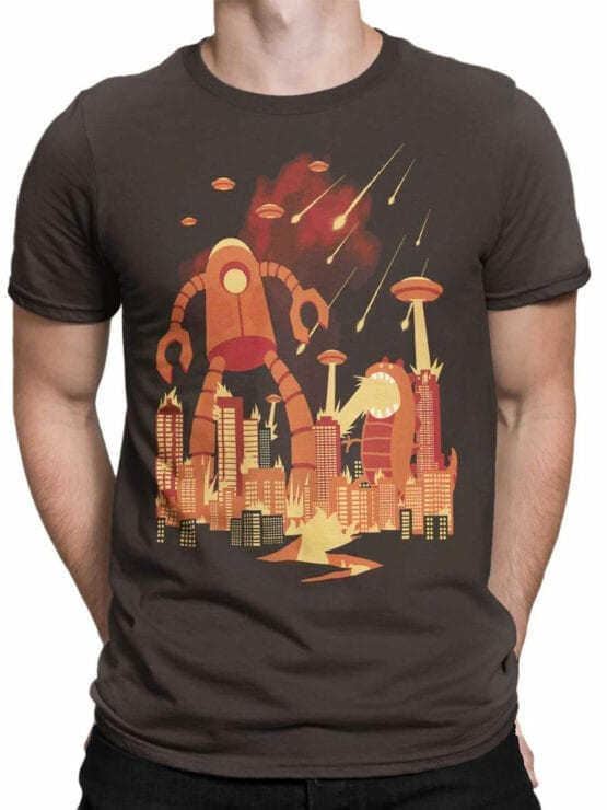 1867 Retro Armageddon T Shirt Front Man