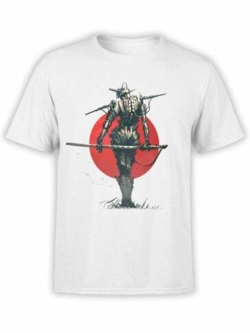 1870 Robo Samurai T Shirt Front