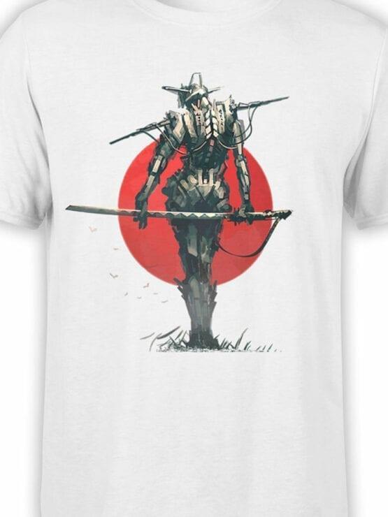 1870 Robo Samurai T Shirt Front Color