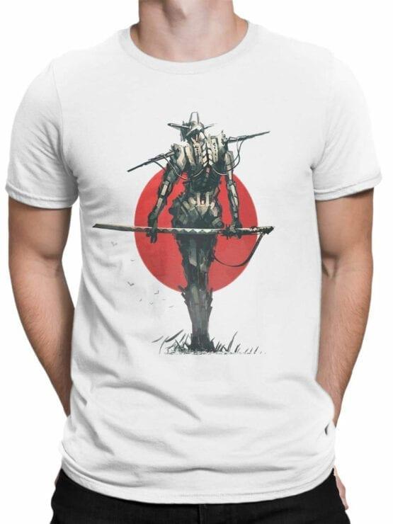 1870 Robo Samurai T Shirt Front Man