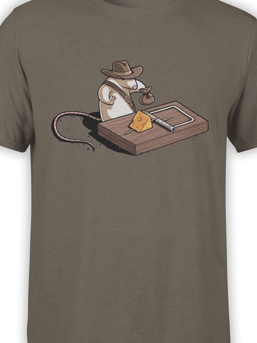 1871 Indiana Mouse T Shirt Front Color