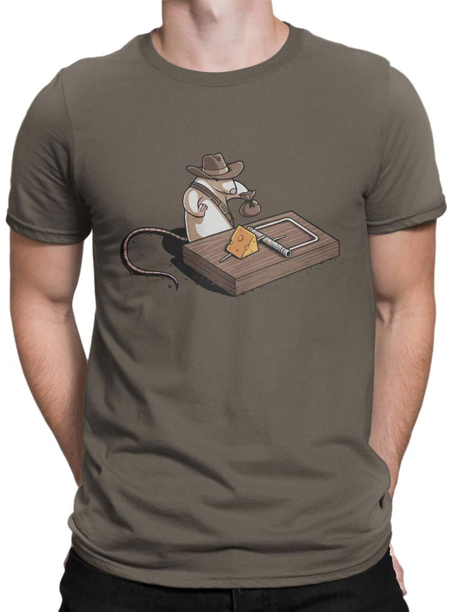 1871 Indiana Mouse T Shirt Front Man