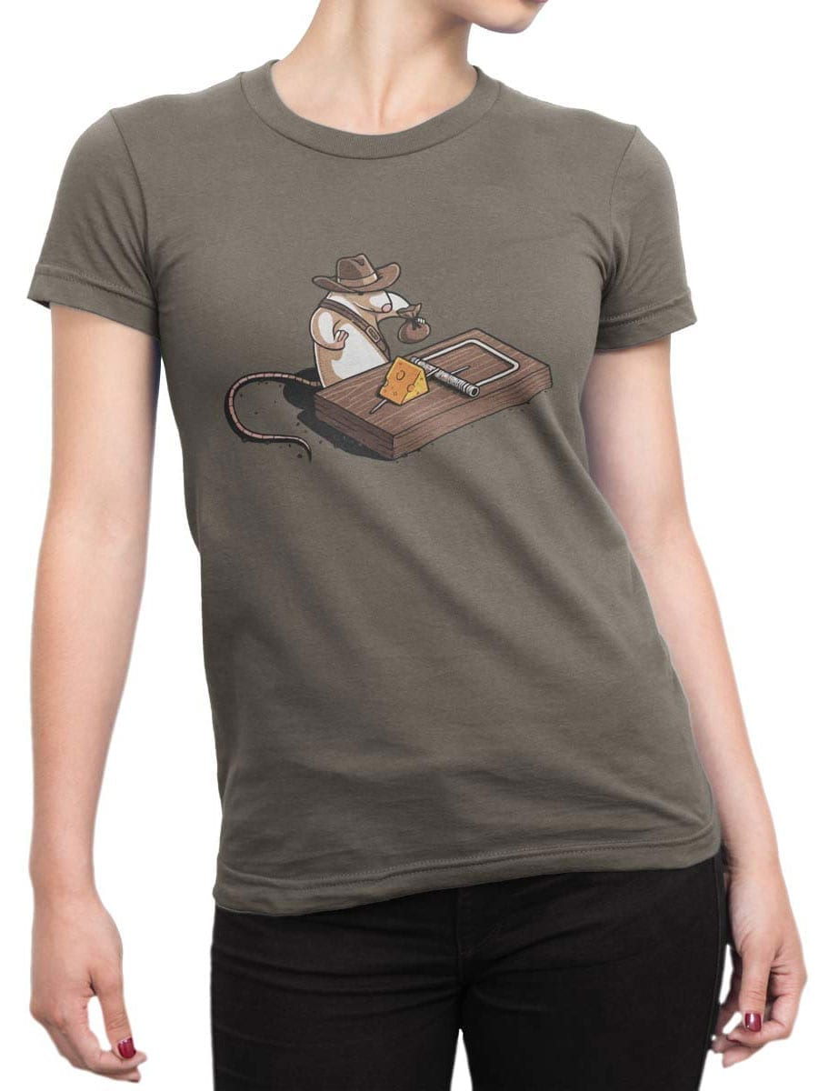 1871 Indiana Mouse T Shirt Front Woman