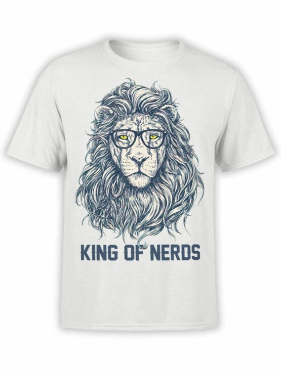 1874 King of Nerds T Shirt Front