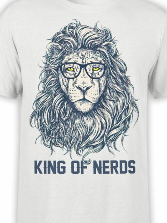 1874 King of Nerds T Shirt Front Color